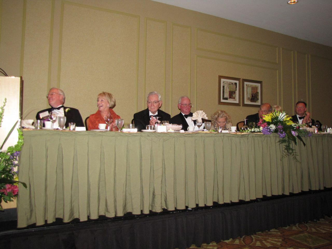 Head table (right)