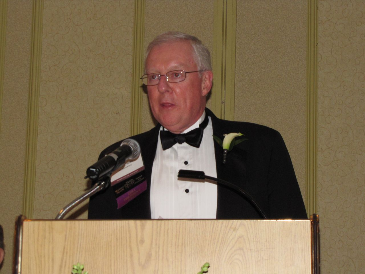 New ISBA President John O'Brien