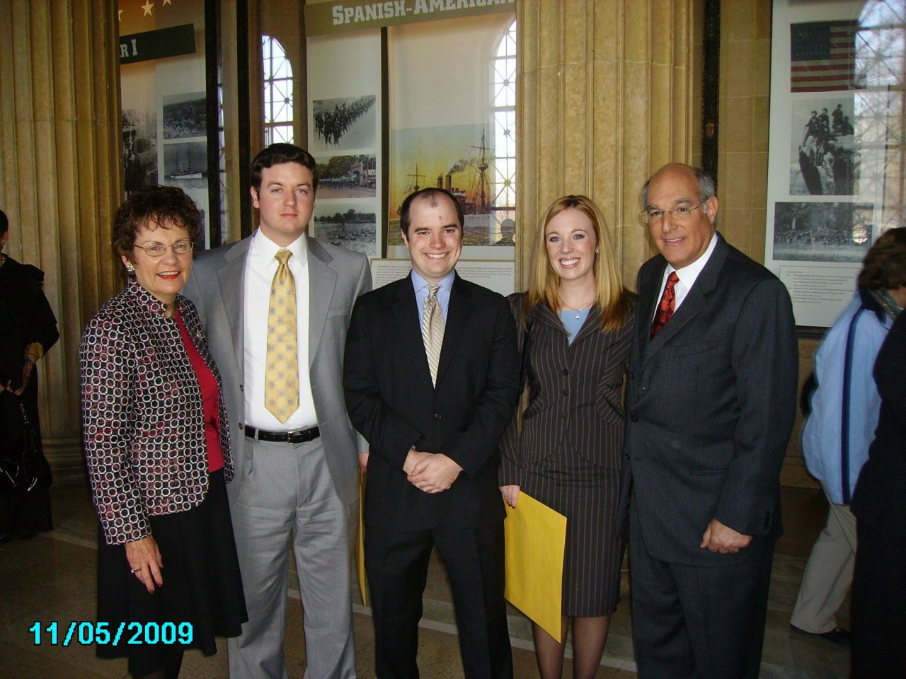 Justice Garman, Kevin Markes, Patrick Schuette, Michelle Clatfelter, ISBA President Elect Mark Hassakis