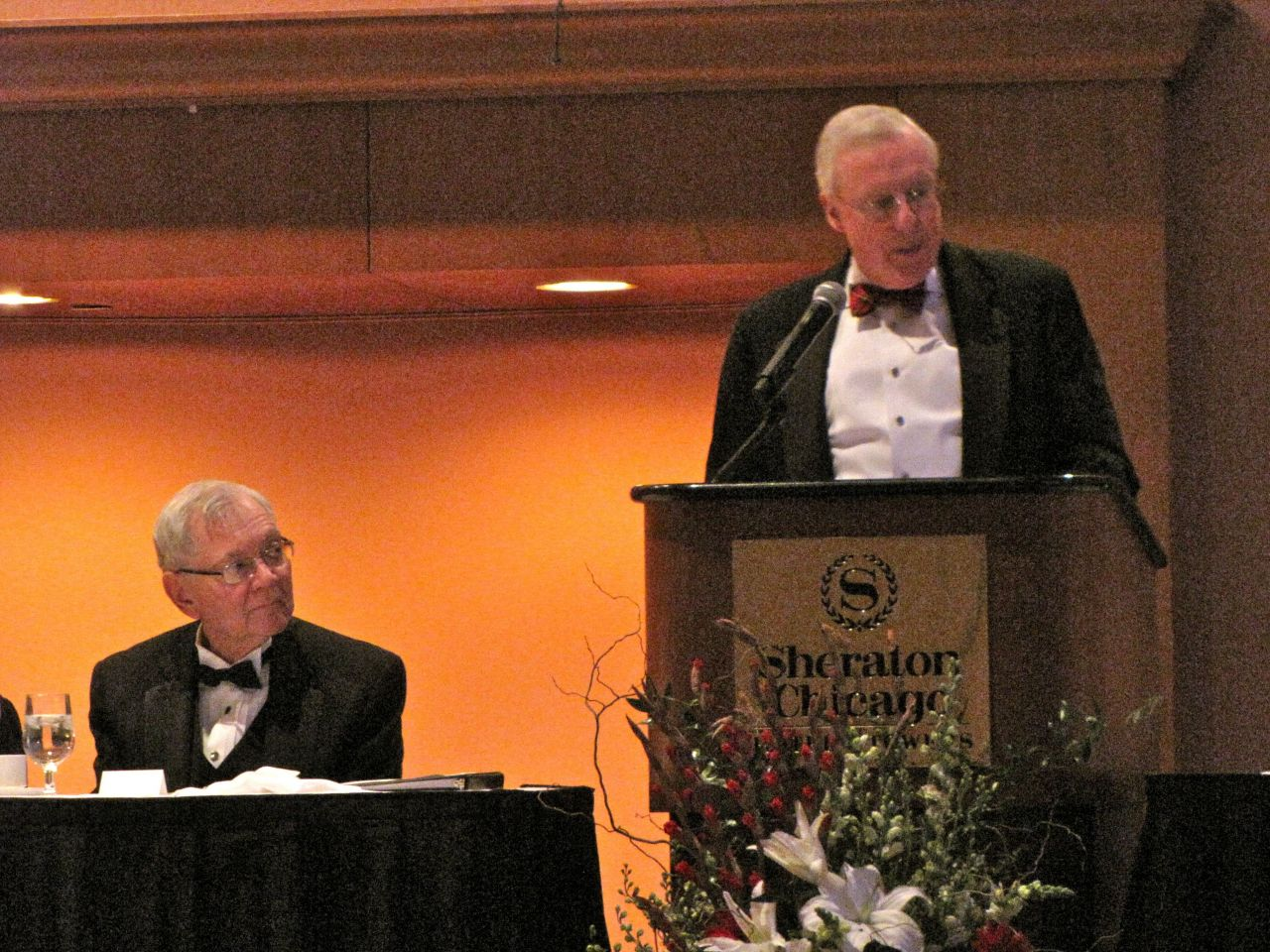 Chief Justice Thomas Fitzgerald and ISBA President John O'Brien