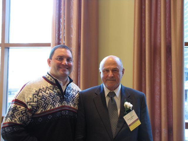 Distinguished Counsellor William R. Stanczak and guest