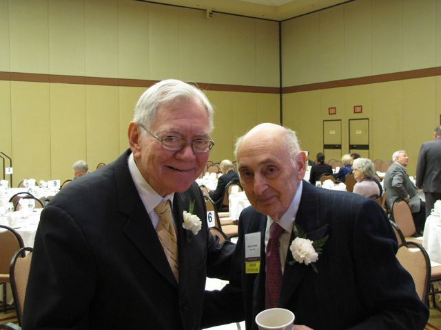 Former Chief Justice Thomas Fitzgerald and Distinguished Counsellor Angelo Ruggiero