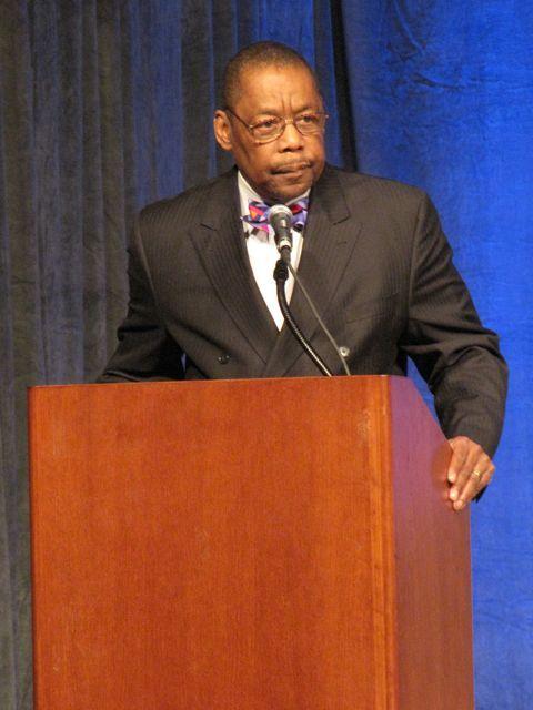 Keynote speaker Randolph N. Stone