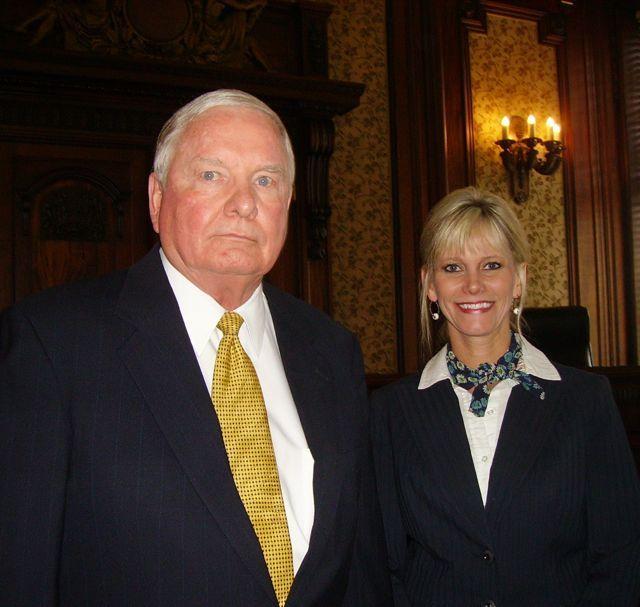 Judge Gerald D. Fines, Danville and Judge April G. Troemper, Springfield.