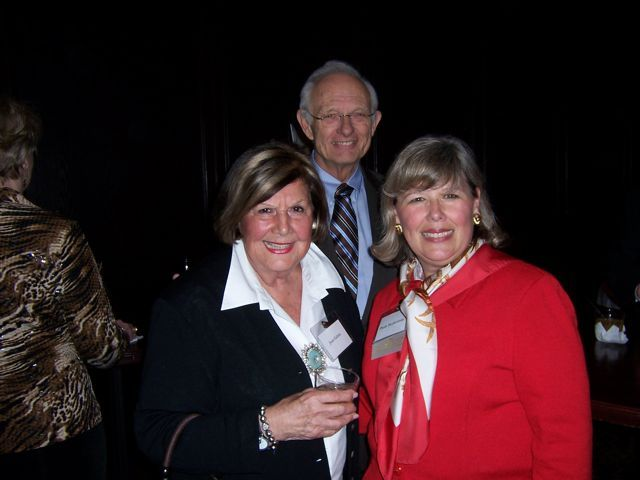 Joan Gabric, John Kincaid, newly-elected ISBA 3rd Vice President Paula Holderman
