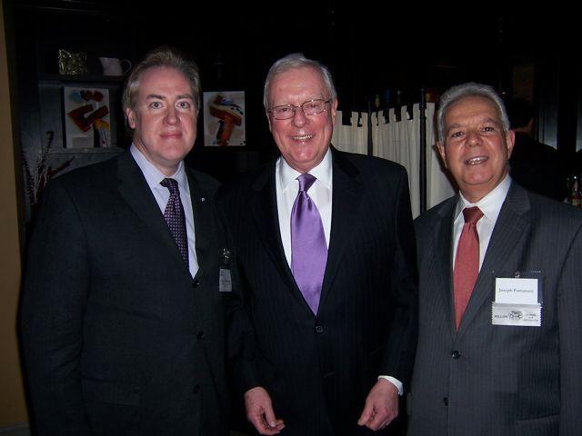Illinois Real Estate Lawyers Association President Ralph Schumann, President O'Brien and IRELA Past President Joseph Fortunato
