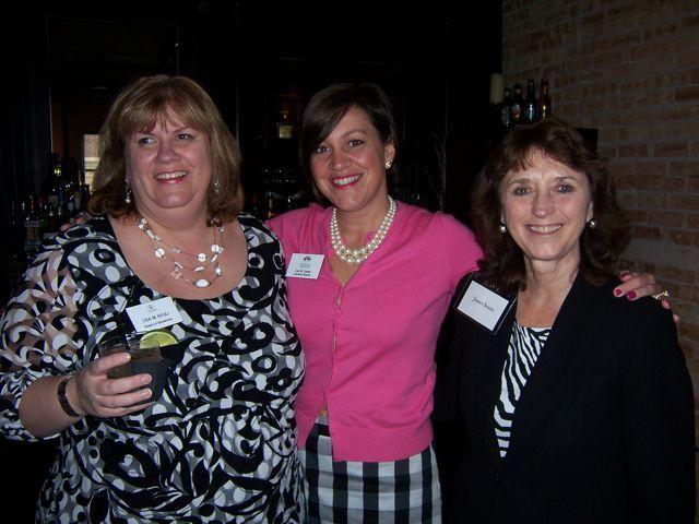 Board of Governors member Lisa Nyuli, IBF Executive Director Lisa Corrao and ISBA Director of Bar Services Janet Sosin