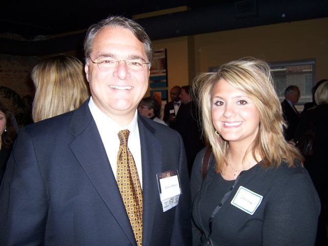 ISBA Board of Governors member James Morici and his niece Jenna