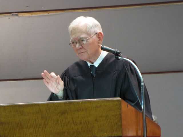 Retiring Chief Justice Thomas Fitzgerald