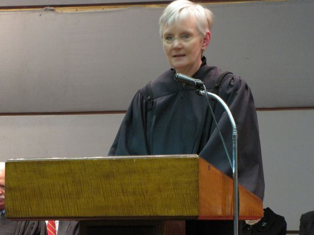 New Illinois Supreme Court Justice Mary Jane Theis