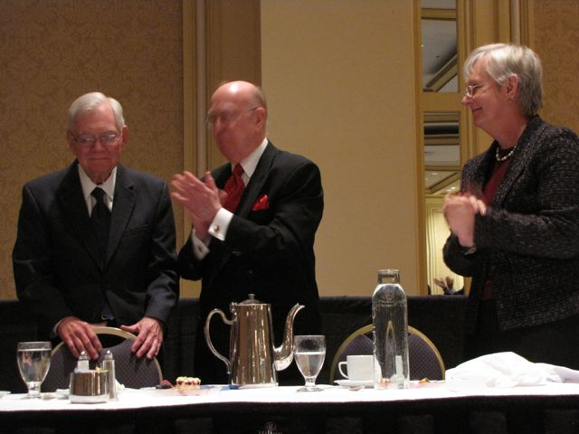 Chief Justice Fitzgerald, Judge William Bauer, Justice Mary Jane Theis