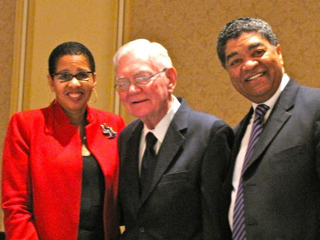 Judge Ann Claire Williams, Chief Justice Fitzgerald, Chief Judge Tim Evans