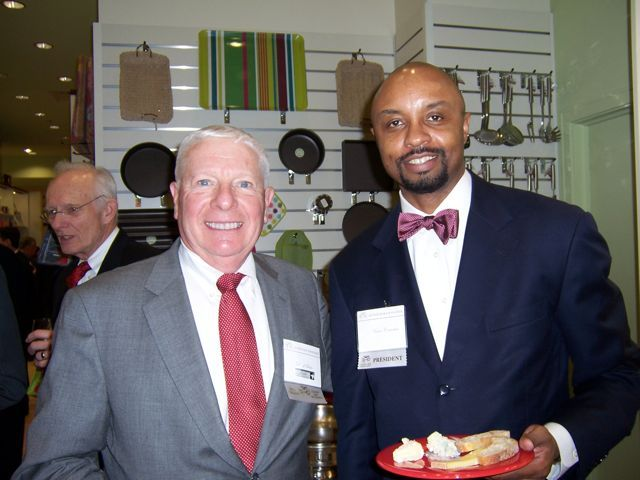 IBF Past President David Sosin and current IBF President Vince Cornelius