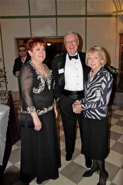 WSBA President Marilyn Longwell with ISBA President John O'Brien and his wife Karen.
