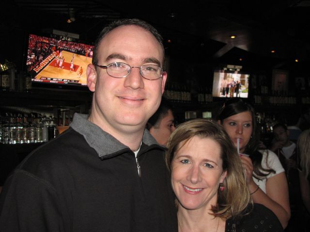 ISBA YLD newsletter co-editor Justin Heather, winner of the ABA's Young Lawyer of the Year Award, teamed up with his wife, Kim