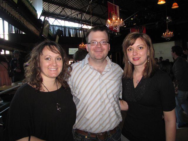 YLD Secretary Heather Fritsch, YLD Vice Chair Bob Fink and YLD Chair Kelley Gandurski