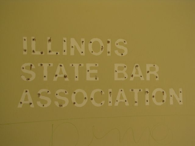 The letters came down, but the ISBA name remains.