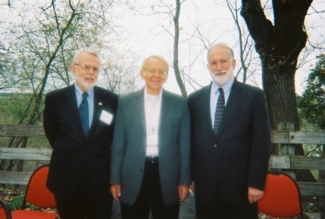 Allerton Conference Co-Coordinators Bob Park, Judge Allen Goldberg, and Prof. Jeff Parness