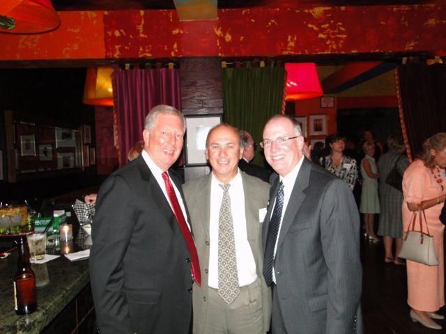 ISBA Mutual Executive Director Jon DeMoss, Leonard DeFranco, ISBA President-elect John Thies