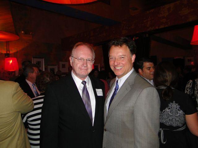 Illinois Supreme Court Chief Justice Kilbride and ISBA President John Locallo