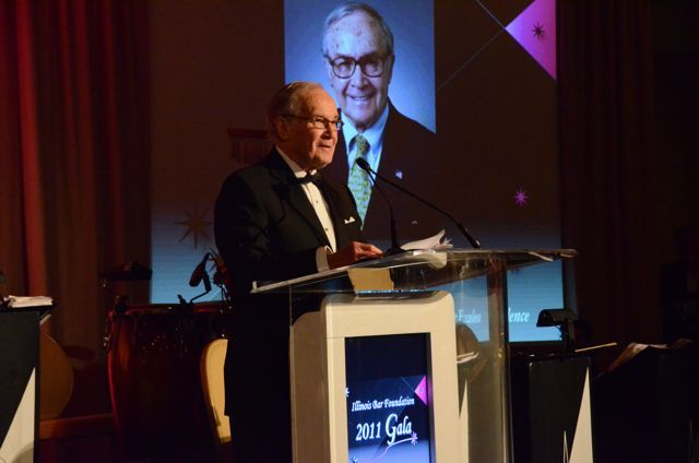IBF Distinguished Award for Excellence recipient Newton Minow
