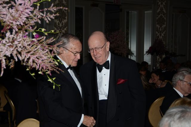 Newton Minow and Judge William Bauer