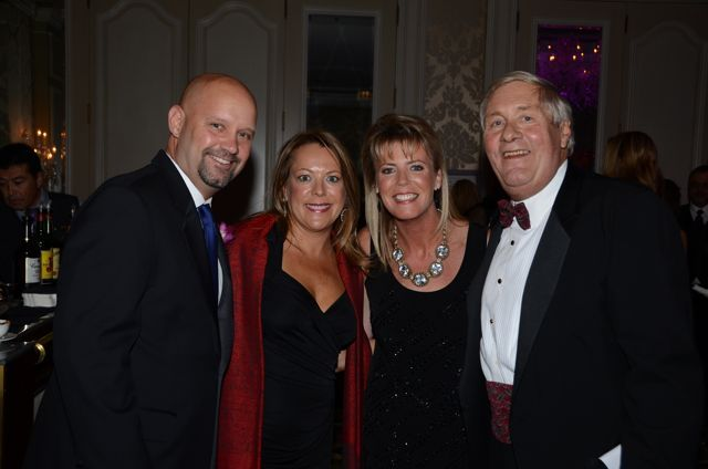 Board Gala Chair Shawn Kasserman, Cook County Judge Elizabeth Budzinski, ISBA Board member Karen Enright and Gala Co-Chair Rudy Schade