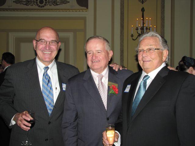 Johnson & Bell Secretary/Shareholder Joseph Marconi, ISBA Board member Judge Russell Hartigan and ISBA Past President Jack Carey