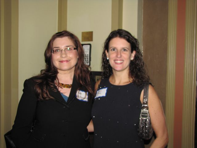 ISBA YLD Council members Anna Krolikowska and Sara Toney