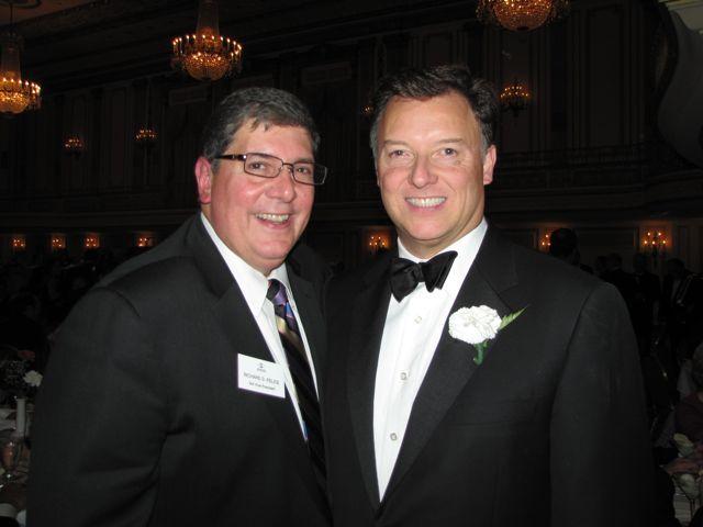 ISBA 3rd Vice President Rick D. Felice and ISBA President John G. Locallo