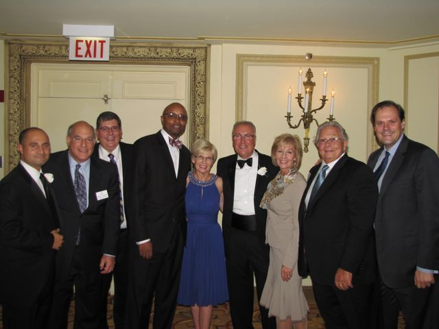 ISBA leaders on hand to support President Locallo