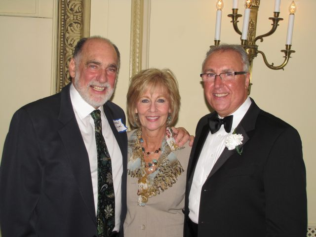 Warren Lupel, Janet Davi and ISBA Board member Umberto Davi