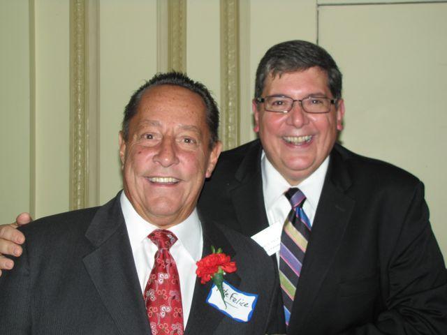 Judge Pete Felice and ISBA 3rd Vice President Rick D. Felice
