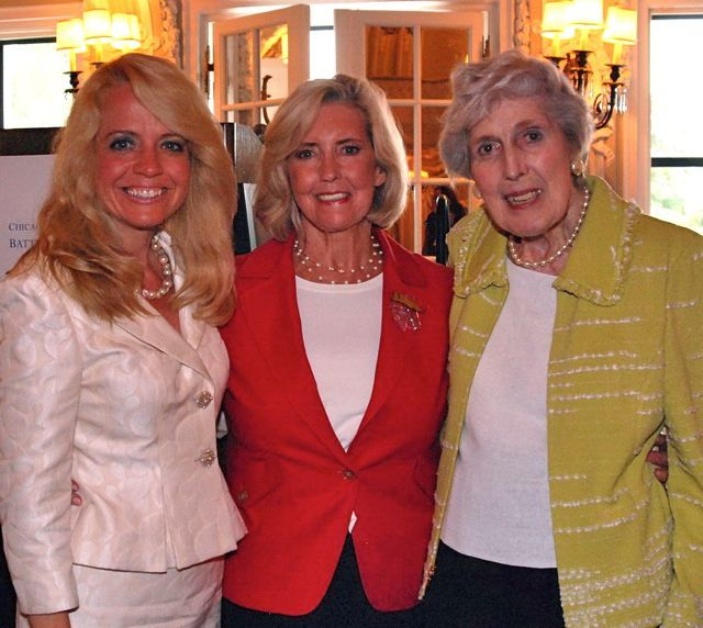 Michele Jochner, Lilly Ledbetter, Justice Mary Ann G. McMorrow