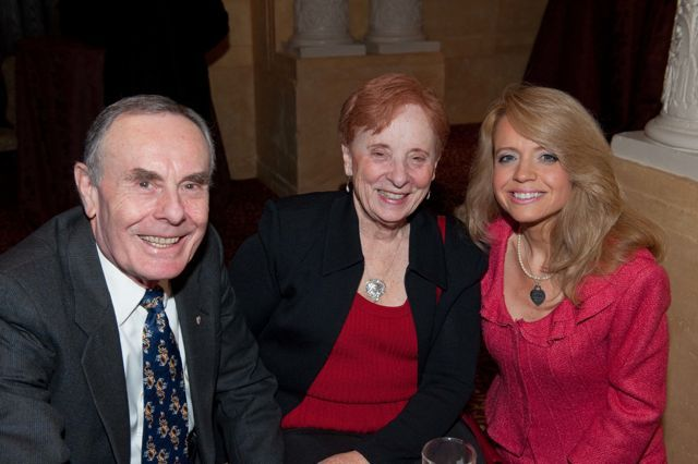 Hon. Sheila Murphy (Ret.) and Patrick Racey with Michele Jochner