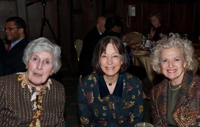 Justice Mary Ann G. McMorrow, Judge Diane Wood, and Justice Anne M. Burke