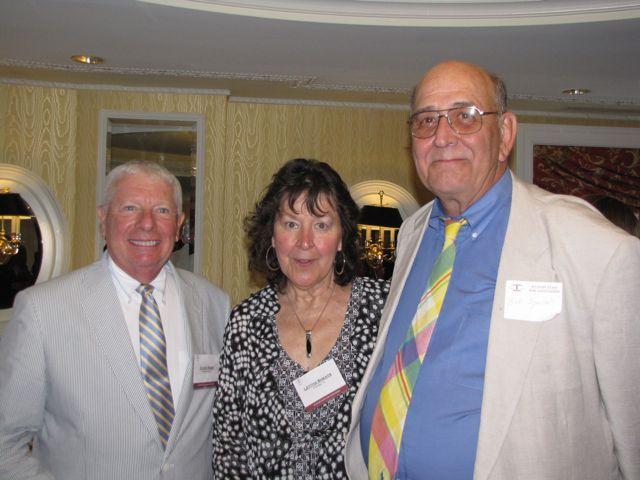 IBF Past President David Sosin with Tish Sheats and Bob Spunar
