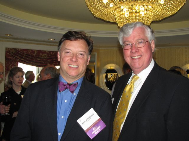 ISBA President-elect John G. Locallo and IBF President George Mahoney
