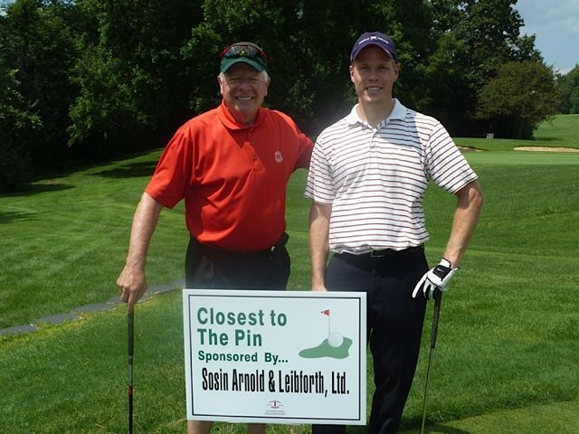 Event sponsor David Sosin and participant Steven Mroczkowski
