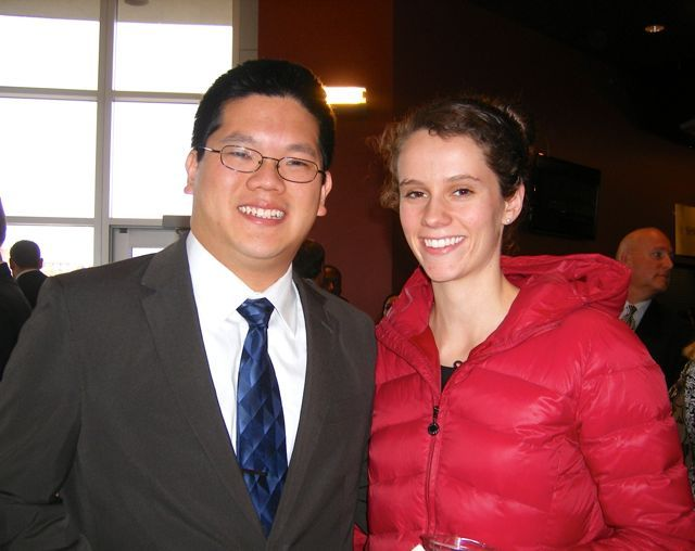 Congratulations to new admittee Richard Juang pictured with his fiancé Nicole Rockweiler.