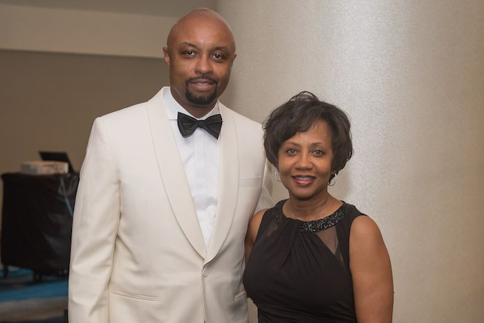 Vincent Cornelius and his wife