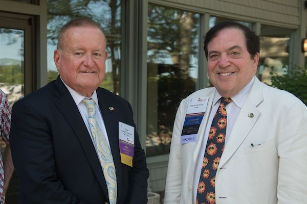 Hon. Russell Hartigan and Stephen M. Komie