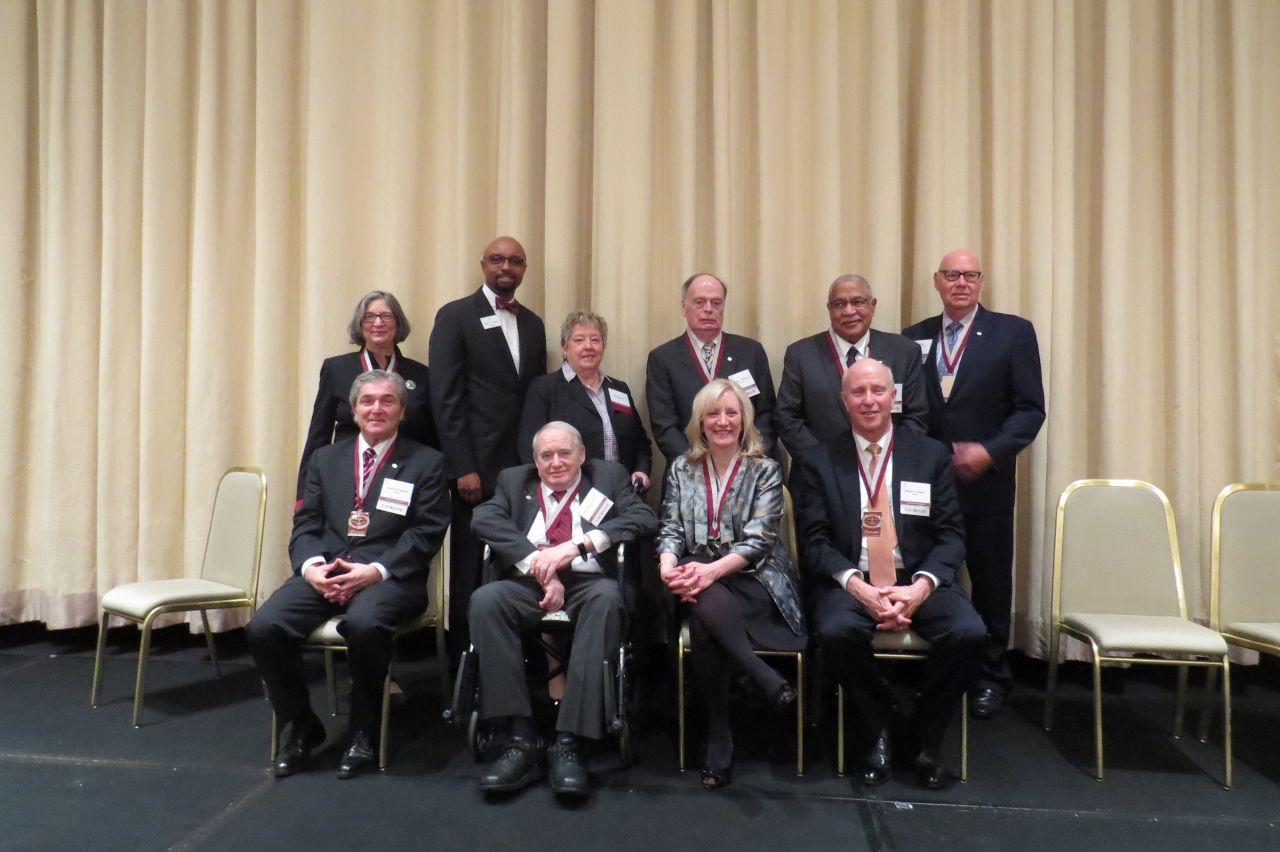 2017 Laureates with Vincent Cornelius