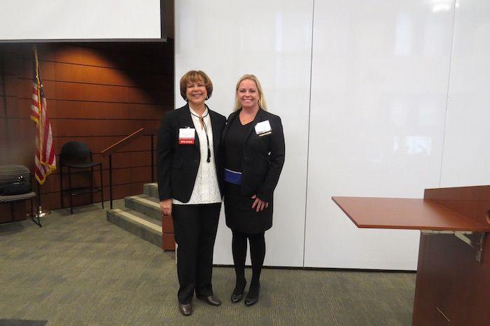 Sharon Rowan and Julie Johnson