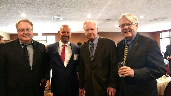 The Illinois Bar Foundation hosted a Rock Island County Fellows Reception on April 27, 2017 at the Oakwood Country Club in Coal Valley, Illinois.