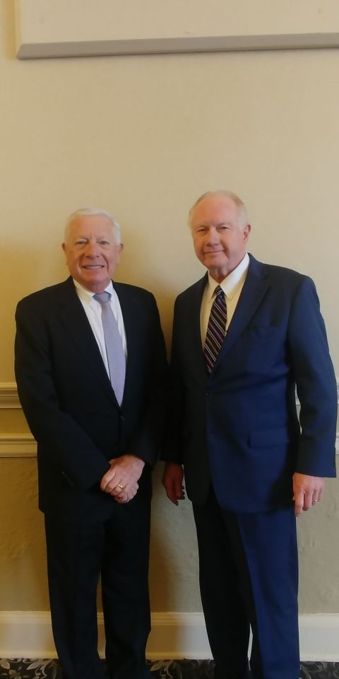 ISBA President Elect David Sosin and Illinois Supreme Court Justice Thomas Kilbride