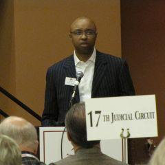 Illinois Bar Foundation President Vince Cornelius