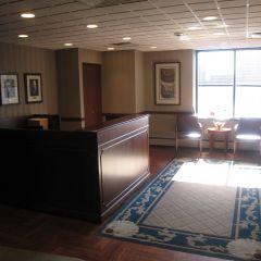 The lobby of Brown, Hay & Stephens