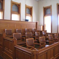 The jury box