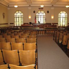 The Historic Courtroom